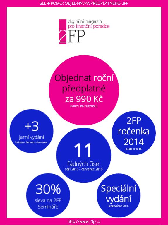 Předplatné květnového čísla 2FP
